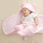 C1- Lonee-Pink Baby blanket for new born baby wrapper my newborn 3 in 1 soft swaddle sleeping bag all season _1.jpg