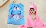 C2-PuppySky-Rabbit Baby blanket for new born baby wrapper my newborn 3 in 1 soft swaddle sleeping bag all season blanket set-Light _1.jpg