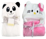 C2-Kitty-Panda Baby blanket for new born baby wrapper my newborn 3 in 1 soft swaddle sleeping bag all season blanket set _3.jpg