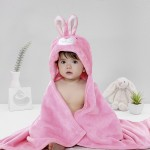 C1-Rabbit-Pink Baby blanket for new born baby wrapper my newborn 3 in 1 soft swaddle sleeping bag all season _01.jpg