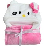 C1-Kitty Baby blanket for new born baby wrapper my newborn 3 in 1 soft swaddle sleeping bag all season _1.jpg