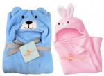 C2-PuppySky-Rabbit Baby blanket for new born baby wrapper my newborn 3 in 1 soft swaddle sleeping bag all season blanket set-Light _2.jpg