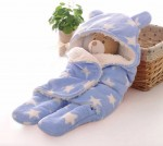 C1-SWADDLE-STAR-BLUE Baby blanket for new born baby wrapper my newborn 3 in 1 soft swaddle sleeping bag all season _01.jpg