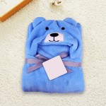 C1-Puppy-Blue Baby blanket for new born baby wrapper my newborn 3 in 1 soft swaddle sleeping bag all season _01.jpg