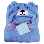 C1-Puppy-Blue Baby blanket for new born baby wrapper my newborn 3 in 1 soft swaddle sleeping bag all season _1.jpg