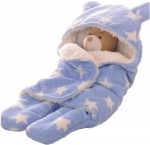 C1-SWADDLE-STAR-BLUE Baby blanket for new born baby wrapper my newborn 3 in 1 soft swaddle sleeping bag all season _1.jpeg
