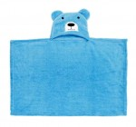 C1-Puppy-Blue Baby blanket for new born baby wrapper my newborn 3 in 1 soft swaddle sleeping bag all season _4.JPG