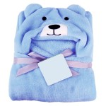C1-Puppy-Blue Baby blanket for new born baby wrapper my newborn 3 in 1 soft swaddle sleeping bag all season _1light.jpg