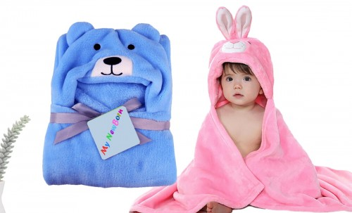 C2-PuppySky-Rabbit Baby blanket for new born baby wrapper my newborn 3 in 1 soft swaddle sleeping bag all season blanket set _1.jpg