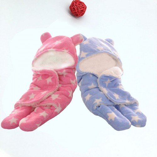 C2-Swaddle-Pink-Blue Baby blanket for new born baby wrapper my newborn 3 in 1 soft swaddle sleeping bag all season _01.jpg